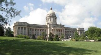 Kentucky State Capital in Frankfort, KY